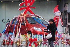 Kínában tavaly közel harmadával több autó fogyott, mint 2009-ben