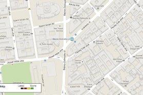 Hiába kértünk forgalomfigyelést, a Google Maps nem jelzett semmilyen információt az érintett szakaszra