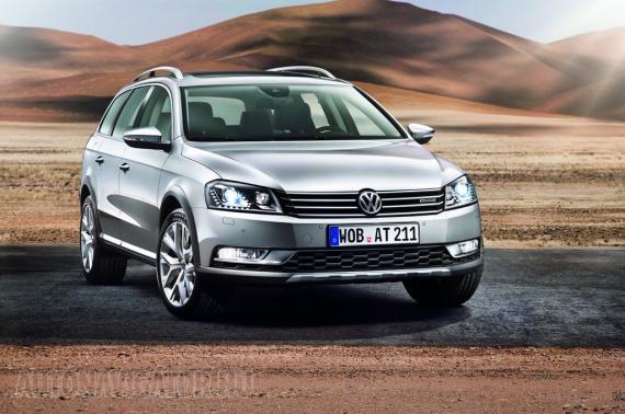 Emelt futóművel, de alapáron fronthajtással érkezik a Volkswagen Passat Alltrack