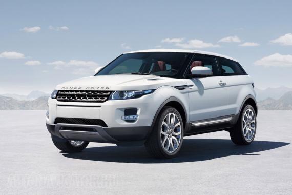 Egy másik COTY-döntős, a negyedik helyezett Range Rover Evoque − erre buknak!