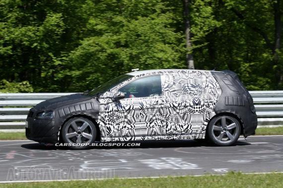 Legalább 18 colos, ötküllős felnikkel várható a Volkswagen Golf GTI hetedik kiadása