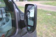 Kulccsal zárható motortér, remek látószögű tüköregyüttes, a tolatóradar most nem hiányzott