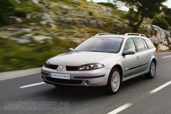 Nagy és kényelmes a Renault Laguna