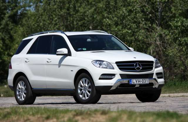 Mercedes-Benz ML 250 BlueTEC 4MATIC teszt
