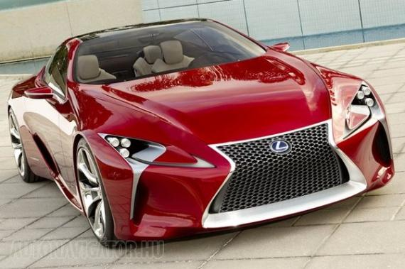 Három évet még legalább várni kell a Lexus új luxuskupéjára