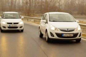Hiába ugyanaz a motorjuk, az Opel Corsa gyárilag jóval alacsonyabb fogyasztású például a Suzuki Swiftnél, mert az 1,3 literes dízelhez ecoFLEX technológiát is kínál. De van benzines-gázos típus is, LPG-vel pedig még kedvezőbb a futásköltség
