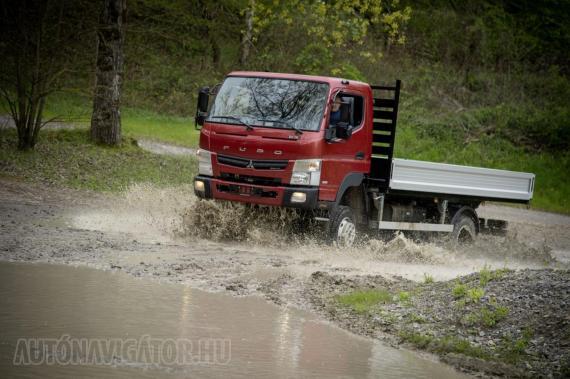 Bár a jelvény Mitsubishi, a haszonjárműveket gyártó FUSO 85%-ban a Daimler konszern tulajdona