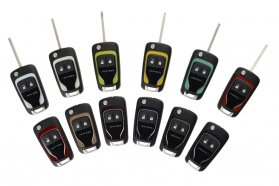 Prémium kisautóként kötelező kellék az autóhoz passzoló kulcs