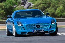 Mercedes SLS AMG Electric Drive − ja, úgy 120 millió forintért