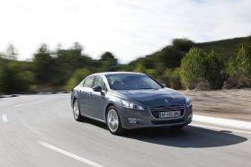 A Peugeot 508 nem kínál modern kényelmi és biztonsági rendszereket