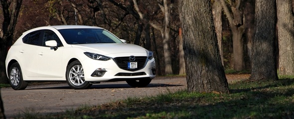 Mazda3 Skyactiv-D 2.2 Attraction teszt