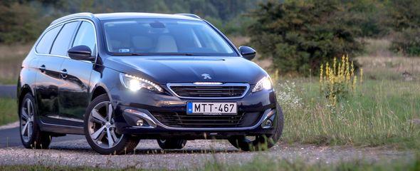 Peugeot 308 SW 1.6 e-HDi teszt