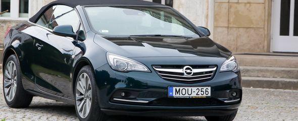 Opel Cascada 1.6 Turbo Ecotec (200 LE) Cosmo teszt