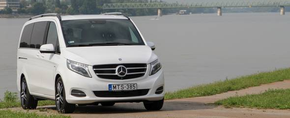Mercedes-Benz V 250 BlueTEC teszt