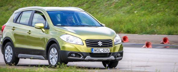 Suzuki SX4 S-Cross 1.6L VVT teszt
