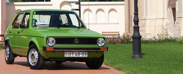 Időutazás: Volkswagen Golf GLS Automatic, 1977