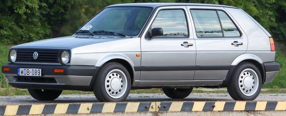 Volkswagen Golf 1.6 GL, 1989 - használtteszt