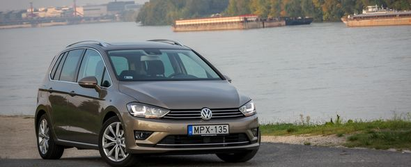 Volkswagen Golf Sportsvan 1.4 TSI DSG BMT teszt