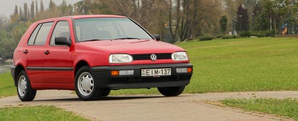 Volkswagen Golf III 1.4 CL, 1994 - használtteszt