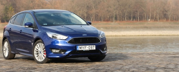 Ford Focus 1.5 EcoBoost (182 LE) teszt