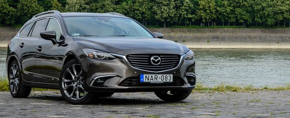 Mazda6 Sportkombi CD175 AWD AT teszt