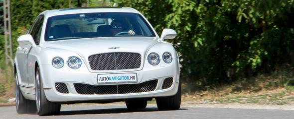Villámpróba: Bentley Continental Flying Spur Speed, 2010