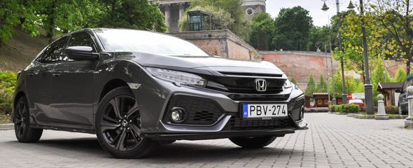 Honda Civic 1.5 VTEC Turbo Sport Plus teszt