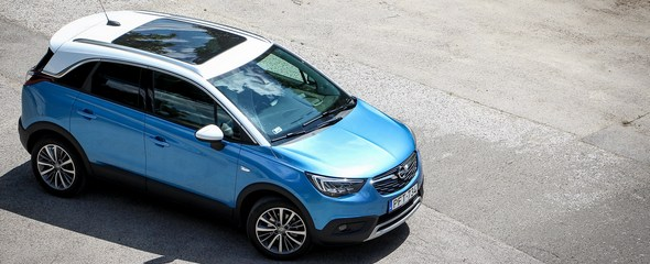 Opel Crossland X Innovation B1.2XHT MT6 teszt