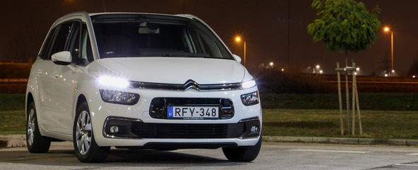 Citroën Grand C4 SpaceTourer 1.5 BlueHDi 130 Automata Feel teszt