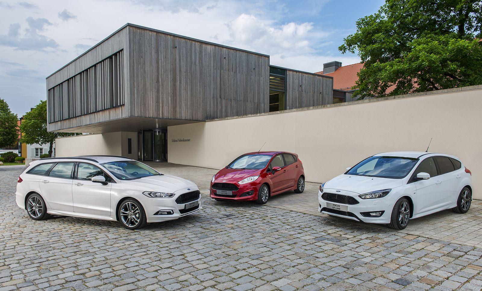 A Ford eladásainak zömét a Mondeo, a Focus és a Fiesta adja - mind jól ismert, sokat bizonyított sorozatok