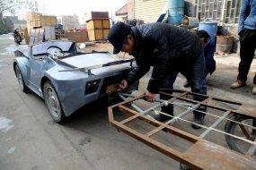 Elektromos Lamborghini Kínából - kicsiként is óriási