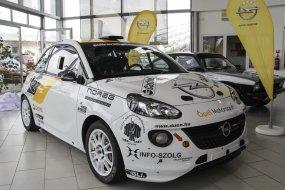 48. Mecsek Rallye: itthon először látható az Opel ADAM Rallye R2