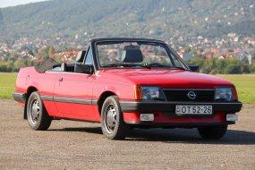 Az ismeretlen vászontetős - Opel Ascona kabrió